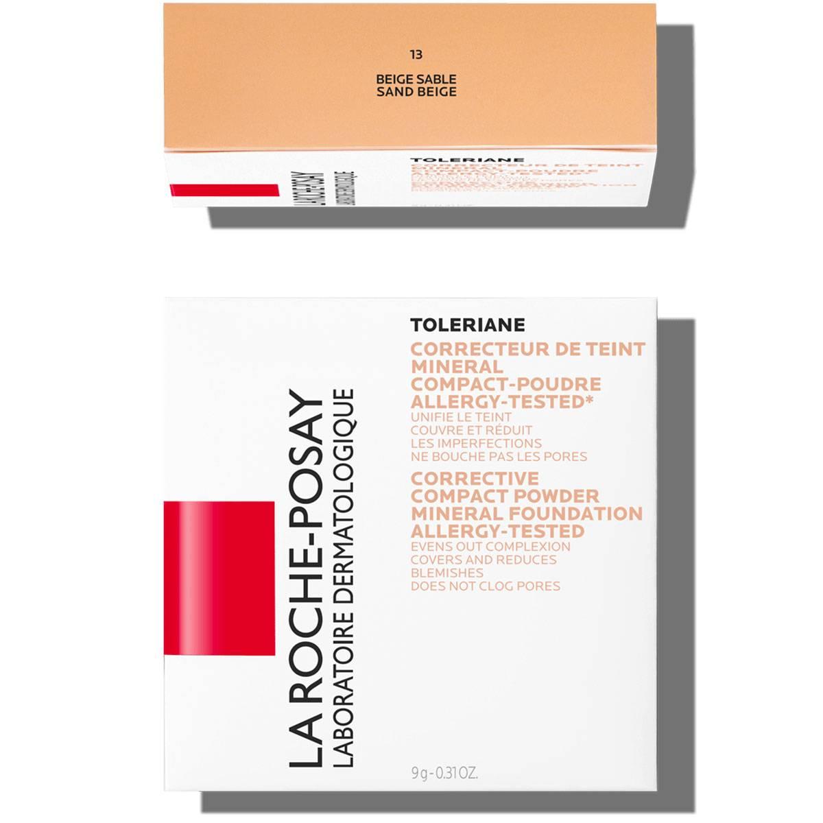 La Roche Posay Érzékeny Bőrre Toleriane Smink KOMPAKT PÚDER 13SandBeige