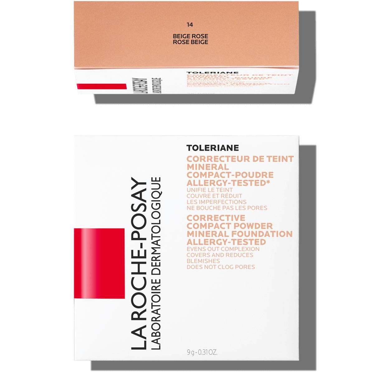 La Roche Posay Érzékeny Bőrre Toleriane Smink KOMPAKT PÚDER 14RoseBeige