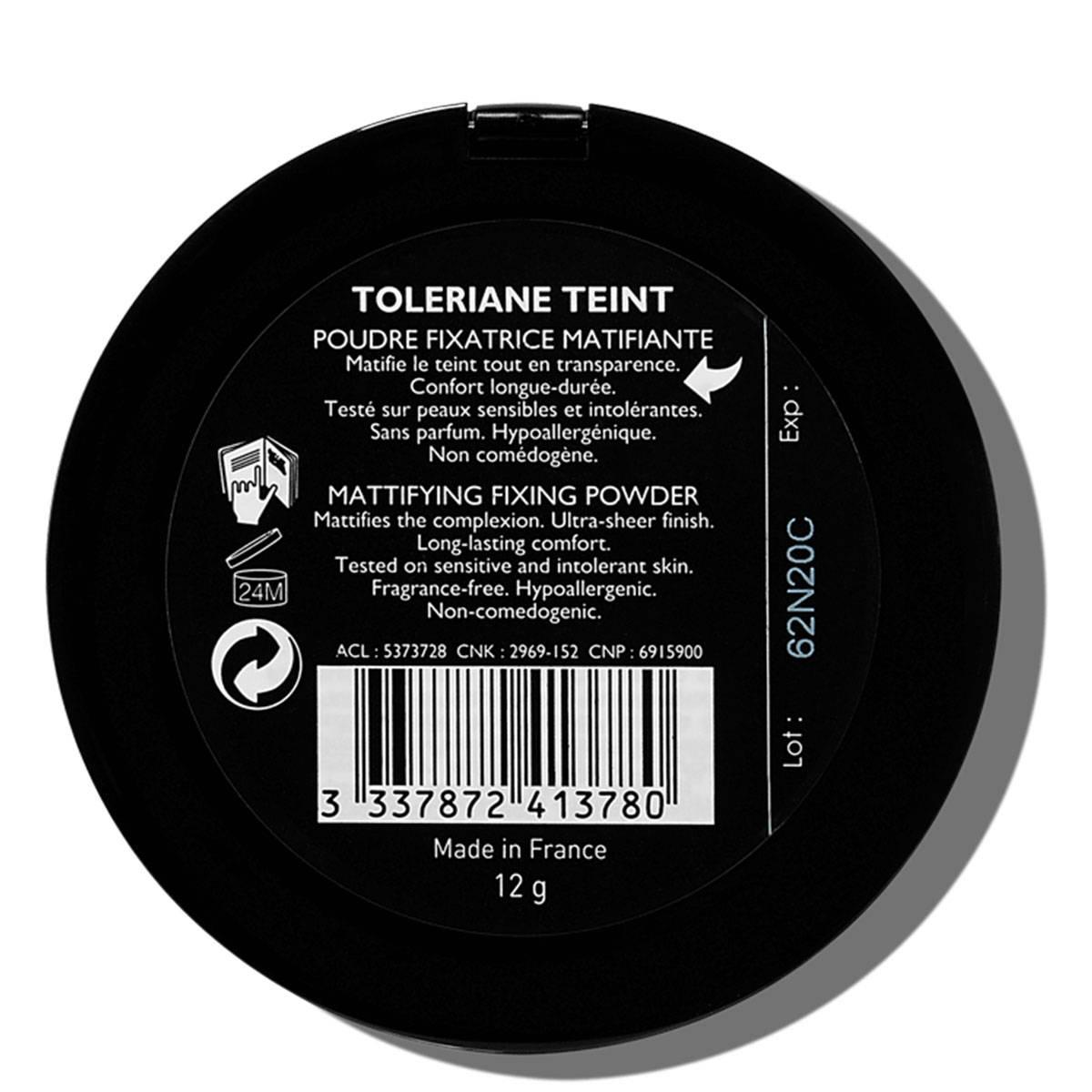 La Roche Posay Érzékeny Bőrre Toleriane Smink TEINT Fixálás 3337872413780